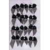 Black Organza Bows